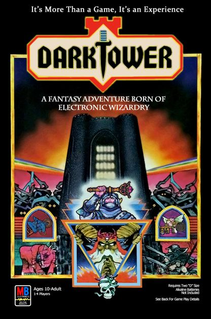 Dark Tower Vintage Board Game