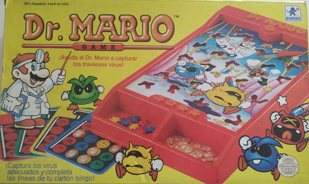 Dr Mario Board Game