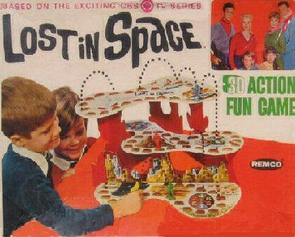 Lost in Space Valuable Board Game